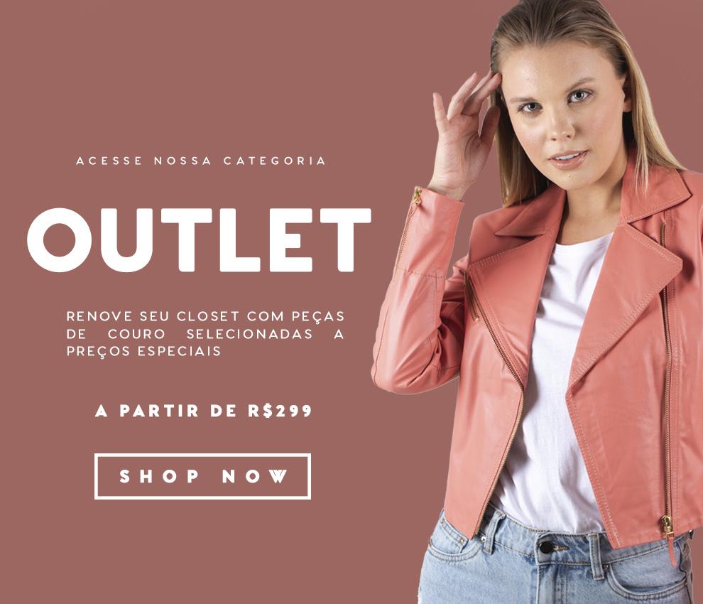OUTLET JAQUETAS DE COURO