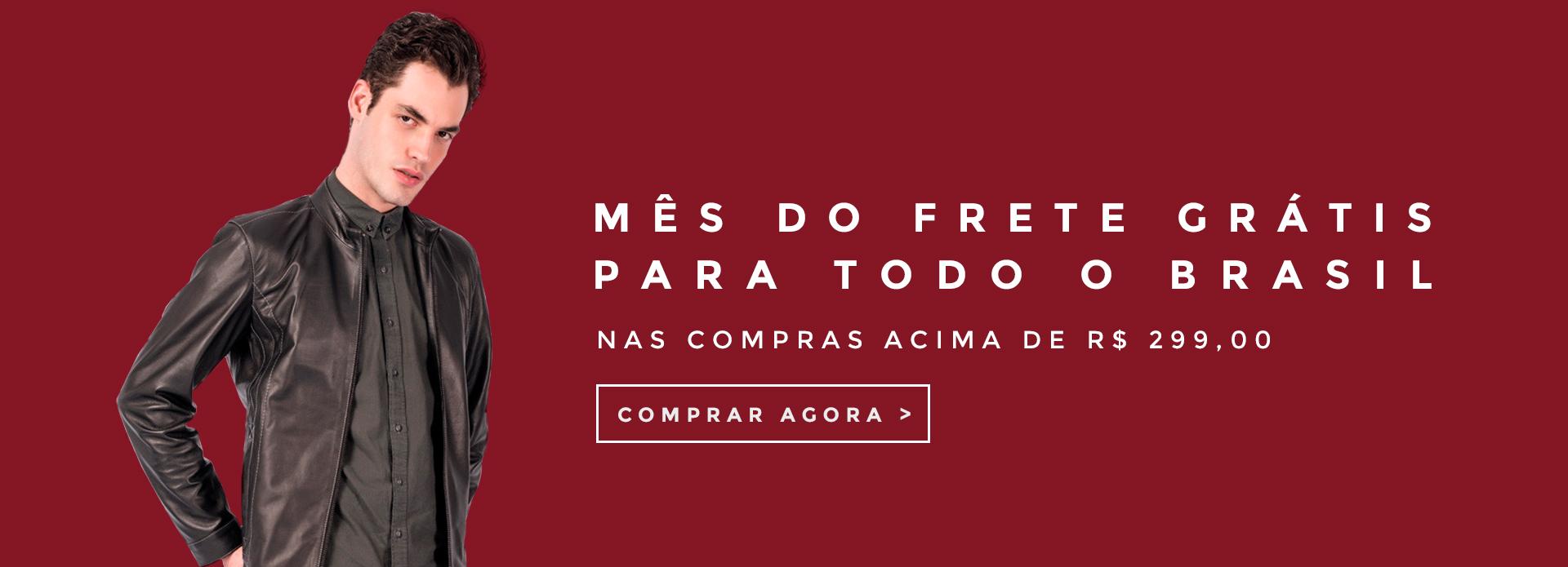MÊS DE FRETE GRÁTIS